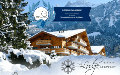 Luxury Travel Guide Award for The Lodge Champéry by Mrs Miggins