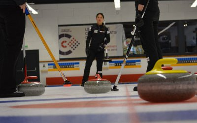Curling Excitment returns to Champéry