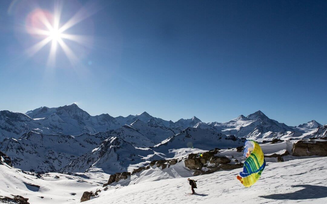 Spring skiing in Grimentz