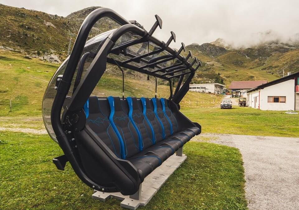 New ski lifts in Grimentz